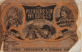 Books:Americana & American History, John Leech. The Pleasures of Mr. Briggs. Stokes, [n. d.].Publisher's wrappers worn and chipped, with front cove...