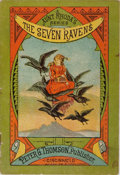 Books:Americana & American History, [Aunt Rhoda's Series]. The Seven Ravens. Peter G. Thomson,1882. 11 pages with 4 color full page illustrations. Mino...