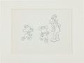 Animation Art:Production Drawing, Mickey's Nephews and Horace Horsecollar Production DrawingAnimation Art (Disney, undated)....