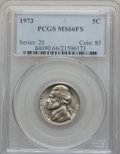 Jefferson Nickels: , 1973 5C MS66 Full Steps PCGS. PCGS Population (79/3). NGC Census:(29/2). Numismedia Wsl. Price for problem free NGC/PCGS ...