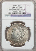 Morgan Dollars: , 1900-S $1 -- Improperly Cleaned -- NGC Details. UNC. NGC Census:(25/2486). PCGS Population (33/4295). Mintage: 3,540,000. ...