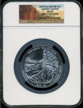 Modern Bullion Coins, 2010 25C Grand Canyon Five-Ounce Silver, Early Releases MS69 NGC.PCGS Population (1327/0)....