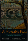 Books:Literature 1900-up, Ernest Hemingway. A Moveable Feast. Charles Scribner's Sons,[1964]. First edition, first printing (code A-3.64[...