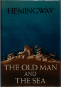 Books:Literature 1900-up, Ernest Hemingway. The Old Man and the Sea. Scribners, 1952.First edition, first printing. Faint toning and shelfwea...