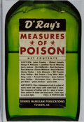Books:Mystery & Detective Fiction, Dennis McMillan [editor]. SIGNED/LIMITED. Measures of Poison. Dennis McMillan, 2002. First edition, first printing. ...