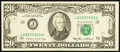 Error Notes:Ink Smears, Fr. 2075-J $20 1985 Federal Reserve Note. Very Fine.. ...