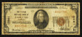 National Bank Notes:Kentucky, Paducah, KY - $20 1929 Ty. 1 The Peoples NB Ch. # 12961. ...