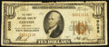 National Bank Notes:Kentucky, Clinton, KY - $10 1929 Ty. 1 The First NB Ch. # 9098. ...