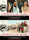 "Movie Posters:Academy Award Winners, Lawrence of Arabia (Columbia, 1962). Italian Photobusta Set of 8 (18"" X 26"").. ... (Total: 8 Items)"