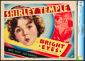 """Movie Posters:Comedy, Bright Eyes (Fox, 1934). CGC Graded Title Lobby Card (11"""" X 14"""")....."""