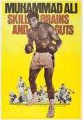"Movie Posters:Documentary, Legends of the Ring: Muhammad Ali - Skill, Brains and Guts(Bryanston, 1975). Poster (40"" X 60"").. ..."