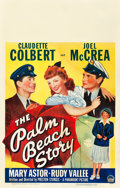 """Movie Posters:Comedy, The Palm Beach Story (Paramount, 1942). Window Card (14"""" X 22"""")....."""