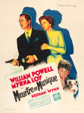 "Movie Posters:Mystery, Song of the Thin Man (MGM, 1948). French Grande (47"" X 63"").. ..."