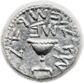 Ancients:Judaea, Ancients: Jewish War (66 - 70 AD). AR shekel (22.7mm, 13.98 gm,1h)....