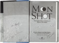 "Explorers:Space Exploration, Alan Shepard, et al: Moon Shot Signed Book Directly from thePersonal Collection of Astronaut ""Den Mother"" Lola Mo..."