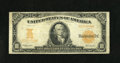 Large Size:Gold Certificates, Fr. 1172 $10 1907 Gold Certificate Very Good-Fine. A bit of fraying is noticed at the top of this Gold note which has a hard...