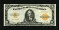 Large Size:Gold Certificates, Fr. 1173a $10 1922 Mule Gold Certificate Very Fine-Extremely Fine. This is a bright example of the tougher small serial numb...