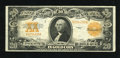 Large Size:Gold Certificates, Fr. 1187 $20 1922 Mule Gold Certificate Very Fine. A lovely example of this mule gold certificate that has bright ink colors...