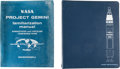 Explorers:Space Exploration, Gemini Program: Two Original NASA-McDonnell Manuals.... (Total: 2Items)