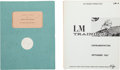 Explorers:Space Exploration, Apollo Program: Two Grumman Aircraft Engineering Corporation LunarModule Training Manuals.... (Total: 2 Items)