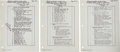 "Explorers:Space Exploration, Gemini 5 Flown Reentry Checklist ""Electrical System Malfunction Procedures"" Pages (Three) Originally from the Personal Collect... (Total: 3 Items)"