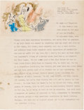 Autographs:Artists, Lyonel Feininger Typed Letter Signed....