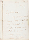 Autographs:Celebrities, David Livingstone Autograph Letter Signed.... (Total: 2 )