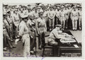 Autographs:Military Figures, Chester W. Nimitz Inscribed Photograph Signed....