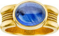 Estate Jewelry:Rings, Sapphire, Gold Ring, Reinstein Ross. ...