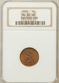 Indian Cents: , 1904 1C MS64 Red and Brown NGC. NGC Census: (254/124). PCGSPopulation (427/76). Mintage: 61,328,016. Numismedia Wsl. Price...