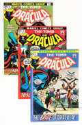 Bronze Age (1970-1979):Horror, Tomb of Dracula #2-9 and 11 Group (Marvel, 1972-73) Condition:Average VF+.... (Total: 9 Comic Books)