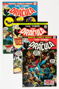 Bronze Age (1970-1979):Horror, Tomb of Dracula #13-25 Group (Marvel, 1973-74) Condition: AverageVF.... (Total: 14 Comic Books)