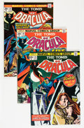 Bronze Age (1970-1979):Horror, Tomb of Dracula Group (Marvel, 1974-76) Condition: Average VF....(Total: 20 Comic Books)