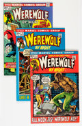 Bronze Age (1970-1979):Horror, Werewolf by Night #1-15 Group (Marvel, 1972-73) Condition: AverageVF.... (Total: 15 Comic Books)