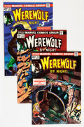 Bronze Age (1970-1979):Horror, Werewolf by Night Group (Marvel, 1973-75) Condition: AverageVF/NM.... (Total: 13 Comic Books)