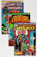 Bronze Age (1970-1979):Horror, Creatures on the Loose Group (Marvel, 1972-75) Condition: AverageVF.... (Total: 22 Comic Books)