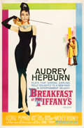 "Movie Posters:Romance, Breakfast at Tiffany's (Paramount, 1961). Poster (40"" X 60"") StyleZ. From the collection of Wade Williams.. ..."