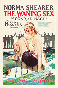 """The Waning Sex (MGM, 1926). One Sheet (27"""" X 41"""")"""