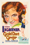 "Movie Posters:Comedy, Gold Dust Gertie (Warner Brothers, 1931). One Sheet (27"" X 41"") Style A.. ..."