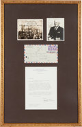 Autographs:Military Figures, Second World War Naval Group...