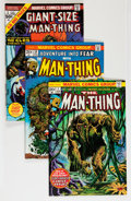 Bronze Age (1970-1979):Horror, Man-Thing Group (Marvel, 1972-75) Condition: Average VF-....(Total: 30 Comic Books)