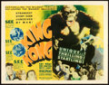 "Movie Posters:Horror, King Kong (RKO, 1933). Title Lobby Card (11"" X 14"").. ..."