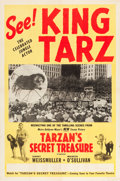 "Movie Posters:Adventure, Tarzan's Secret Treasure (MGM, 1941). One Sheet (27"" X 41"") AdvancePersonal Appearance Poster.. ..."