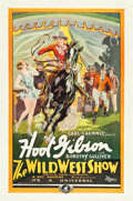 "Movie Posters:Western, The Wild West Show (Universal, 1928). One Sheet (27"" X 41"").. ..."