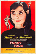 "Movie Posters:Romance, Funny Face (Paramount, 1957). Poster (40"" X 60"") Style Y.. ..."