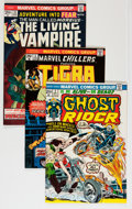 Bronze Age (1970-1979):Horror, Marvel Bronze Age Horror Comics Group (Marvel, 1970s) Condition:Average VF.... (Total: 21 Comic Books)