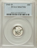 Mercury Dimes: , 1941-D 10C MS67 Full Bands PCGS. PCGS Population (543/23). NGCCensus: (443/5). Mintage: 46,634,000. Numismedia Wsl. Price ...