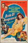 "Movie Posters:Adventure, Bride of Vengeance (Paramount, 1949). One Sheet (27"" X 41"") &Lobby Card Set of 8 (11"" X 14""). Adventure.. ... (Total: 9 Items)"