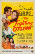 "Movie Posters:Action, The Fighting O'Flynn (Universal International, 1949). One Sheet(27"" X 41""). Action.. ..."