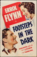 """Movie Posters:Mystery, Footsteps in the Dark (Warner Brothers, 1941). One Sheet (27"""" X41""""). Mystery.. ..."""